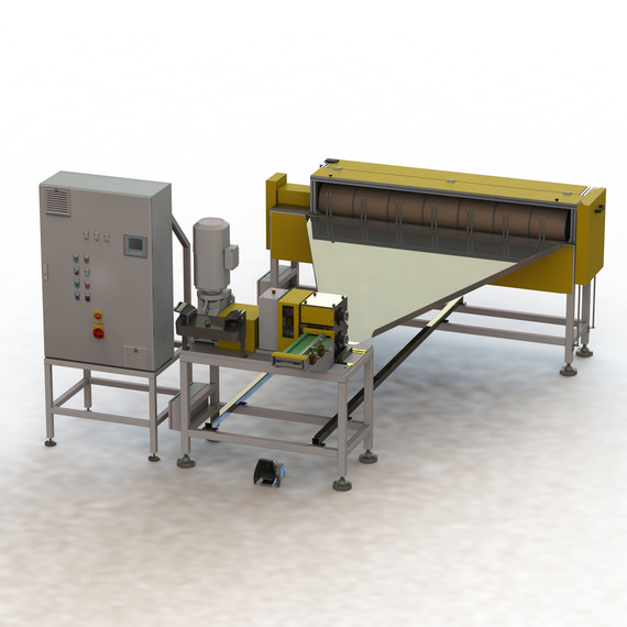 Cutting and winding system